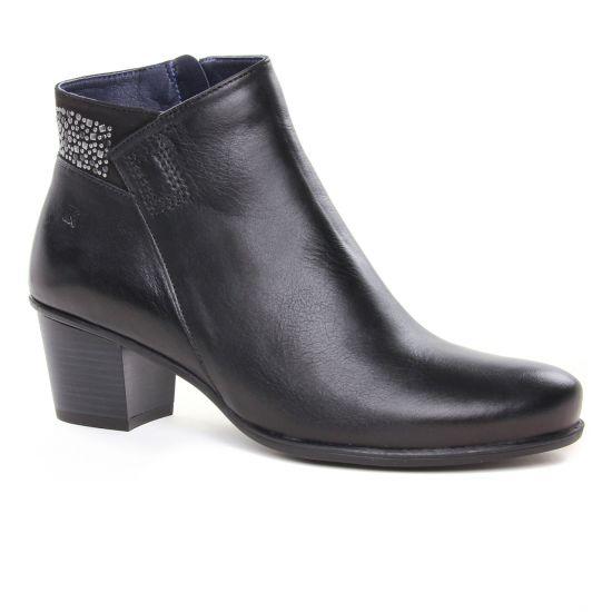 Bottines Et Boots Dorking D7927 Negro, vue principale de la chaussure femme