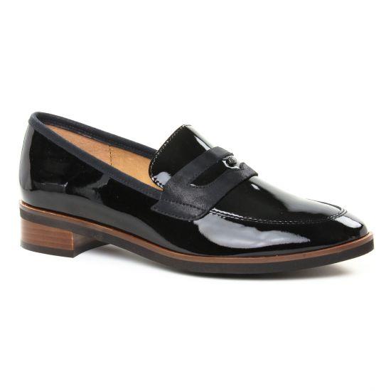 Mocassins Emilie Karston Jippy Noir, vue principale de la chaussure femme