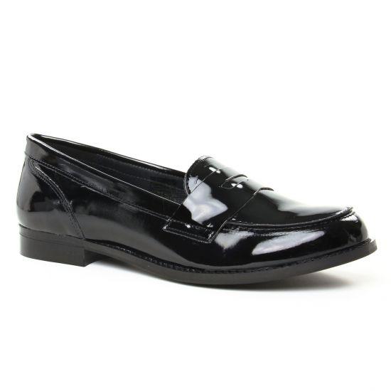 Mocassins Scarlatine 11034D Noir, vue principale de la chaussure femme