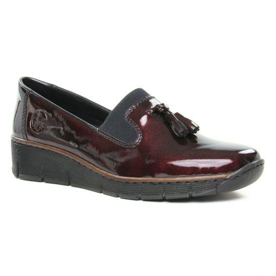 Mocassins Rieker 53751-35 Pomerol, vue principale de la chaussure femme