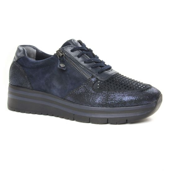 Tennis Et Baskets Mode Tamaris 23740 Navy Comb, vue principale de la chaussure femme