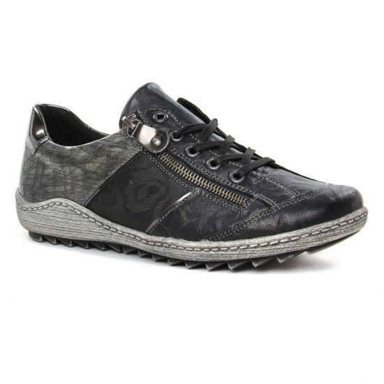 Tennis Et Baskets Mode Remonte R1414-02 Noir, vue principale de la chaussure femme