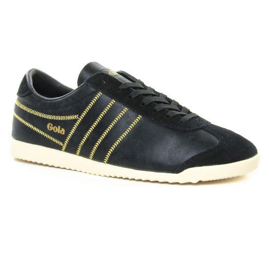 Tennis Et Baskets Mode Gola Bullet Lustre Shimmer Black, vue principale de la chaussure femme