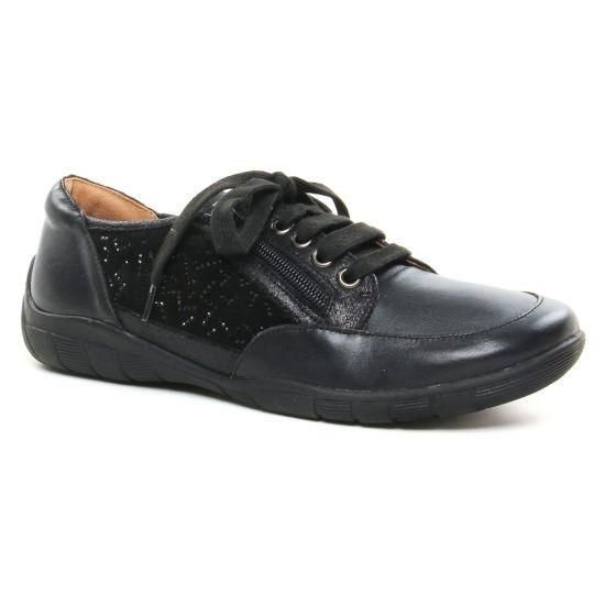 Tennis Et Baskets Mode Sweet Bamba Noir, vue principale de la chaussure femme