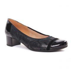 ballerines-confort gris noir: même style de chaussures en ligne pour femmes que les Tamaris