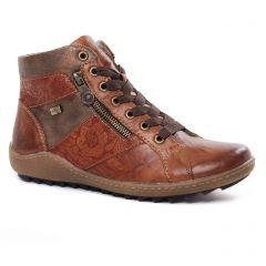 baskets-fourrees marron: même style de chaussures en ligne pour femmes que les Rieker