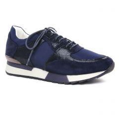 baskets-mode bleu marine: même style de chaussures en ligne pour femmes que les Émilie Karston