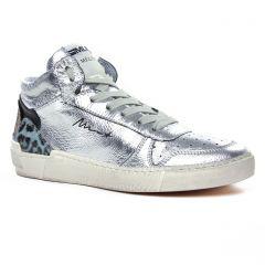 baskets-mode gris argent: même style de chaussures en ligne pour femmes que les Méliné
