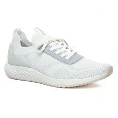 Chaussures femme hiver 2020 - baskets mode tamaris gris argent