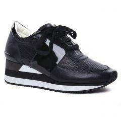 baskets-mode gris noir: même style de chaussures en ligne pour femmes que les Tamaris