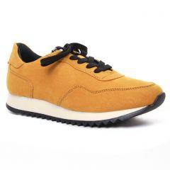baskets-mode jaune: même style de chaussures en ligne pour femmes que les Marco Tozzi