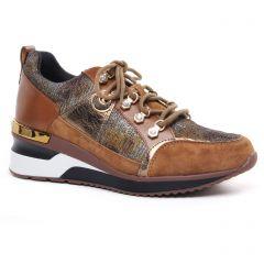 baskets-mode marron: même style de chaussures en ligne pour femmes que les Rieker