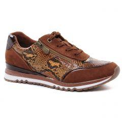 baskets-mode marron: même style de chaussures en ligne pour femmes que les Marco Tozzi