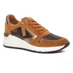 baskets-mode marron: même style de chaussures en ligne pour femmes que les Mamzelle