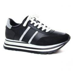 baskets-mode noir blanc: même style de chaussures en ligne pour femmes que les Tamaris