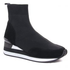 baskets-plateforme noir: même style de chaussures en ligne pour femmes que les Remonte