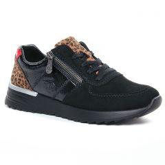 baskets-mode noir fauve: même style de chaussures en ligne pour femmes que les Vanessa Wu
