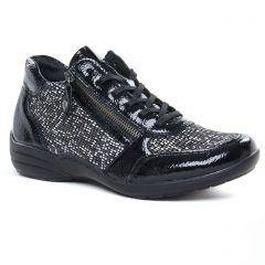 baskets-mode noir: même style de chaussures en ligne pour femmes que les Remonte