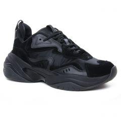 Chaussures femme hiver 2020 - baskets mode tamaris noir