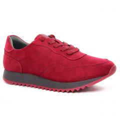 Chaussures femme hiver 2020 - baskets mode tamaris rouge