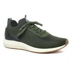 baskets-mode vert kaki: même style de chaussures en ligne pour femmes que les Tamaris
