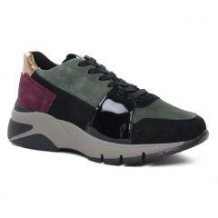 Chaussures femme hiver 2020 - baskets mode tamaris vert kaki