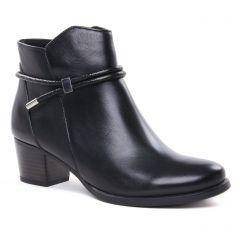 Chaussures femme hiver 2020 - boots confort Caprice noir