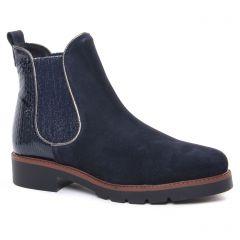 boots-chelsea bleu marine: même style de chaussures en ligne pour femmes que les Tamaris