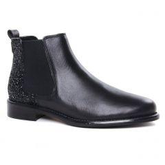 boots-chelsea noir: même style de chaussures en ligne pour femmes que les Rieker