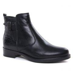Chaussures femme hiver 2020 - boots élastiquées tamaris noir