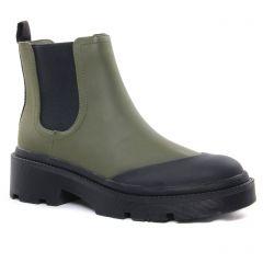 Chaussures femme hiver 2020 - boots élastiquées Vanessa Wu vert