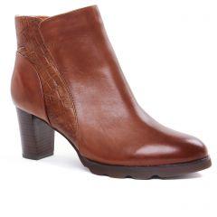 boots marron: même style de chaussures en ligne pour femmes que les Regarde Le Ciel