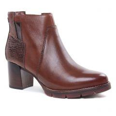 Tamaris 25398 Mahogany Comb : chaussures dans la même tendance femme (boots marron) et disponibles à la vente en ligne