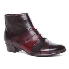 Chaussures femme hiver 2020 - boots Regarde le ciel noir bordeaux