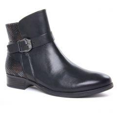 boots-jodhpur noir: même style de chaussures en ligne pour femmes que les Caprice
