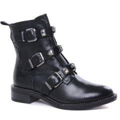Chaussures femme hiver 2020 - boots tamaris noir