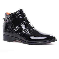 Chaussures femme hiver 2020 - boots Mamzelle noir vernis