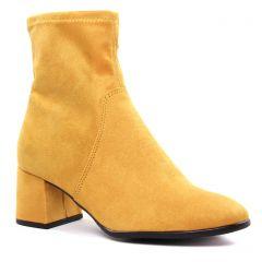 boots-talon jaune: même style de chaussures en ligne pour femmes que les Regarde Le Ciel