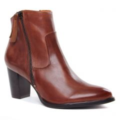 Chaussures femme hiver 2020 - boots talon Regarde le ciel marron