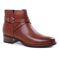 Chaussures femme hiver 2020 - boots talon tamaris marron