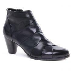 Regarde Le Ciel Marisi-22 Black : chaussures dans la même tendance femme (boots-talon noir marine) et disponibles à la vente en ligne