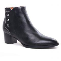 boots-talon noir met: même style de chaussures en ligne pour femmes que les Tamaris