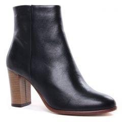 Chaussures femme hiver 2020 - boots talon scarlatine noir