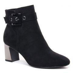 Chaussures femme hiver 2020 - boots talon tamaris noir