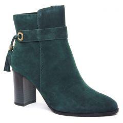 boots-talon vert: même style de chaussures en ligne pour femmes que les Rieker