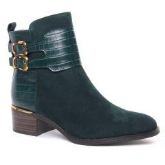 Chaussures femme hiver 2020 - boots tamaris vert
