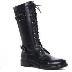 bottes-a-lacets noir: même style de chaussures en ligne pour femmes que les Tamaris