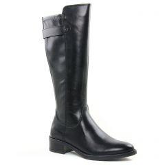 Chaussures femme hiver 2020 - bottes cavalières tamaris noir