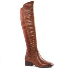 Chaussures femme hiver 2020 - bottes cuissardes tamaris marron