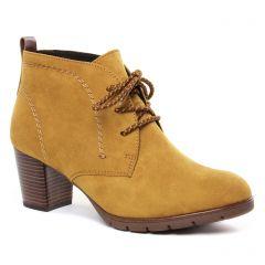 bottines-a-lacets jaune: même style de chaussures en ligne pour femmes que les Marco Tozzi